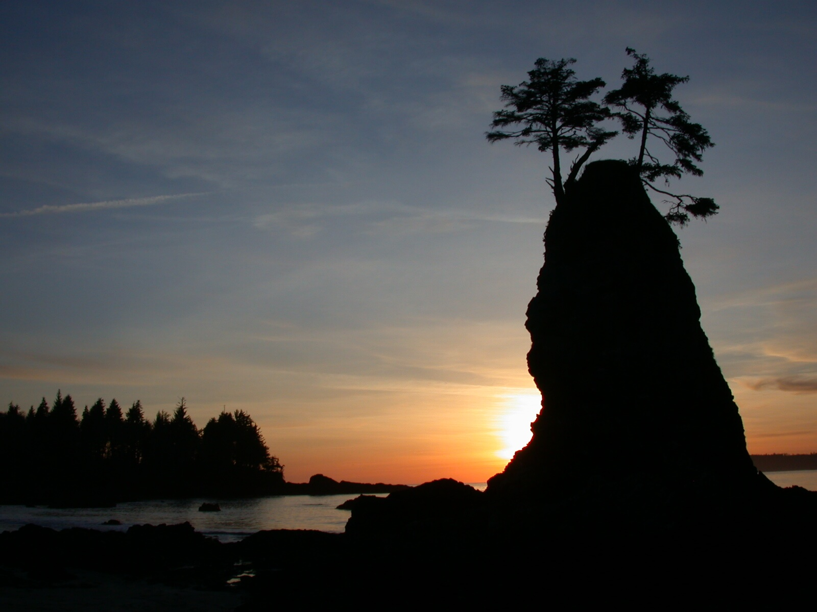 Bamfield Bradys beach Sunset